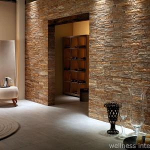 Wellness Interiéry Umělý Kámen Obklad Stěny 52