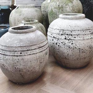 Váza M 23 cm, Váza L 28 cm